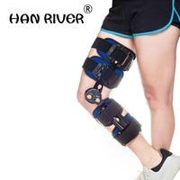 Knee Brace Support Adjustable Pain Medical Hinged Brace Knee Support Joint Orthosis Ligament Sport Injury Splint Sport Knee Pads