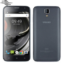 UHANS A101 Mobile phone 5 Inch Android 6.0 Gorilla 4 MTK6737 Quad Core 4G LTE Smartphone 1GB 8GB 1280×720 2450mAh 5.0MP Dual SIM