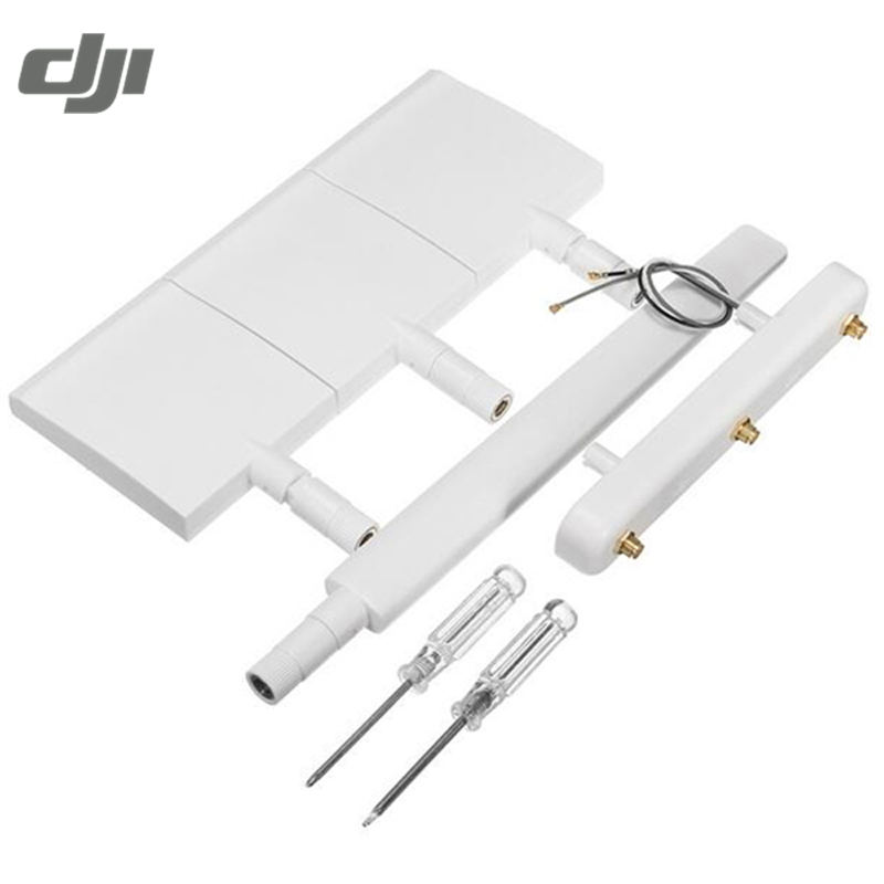 DJI Phantom 3 Standard RC Quadcopter Drone FPV Transmitter Extension 10dBi WiFi Signal Range Extender Antenna Kit