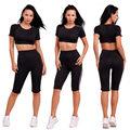 2017 Tracksuit Women Track Suit Women Sweat Suits 2 Two Piece Crop Top and Pants Set Sportswear for Women Suit Tracksuit