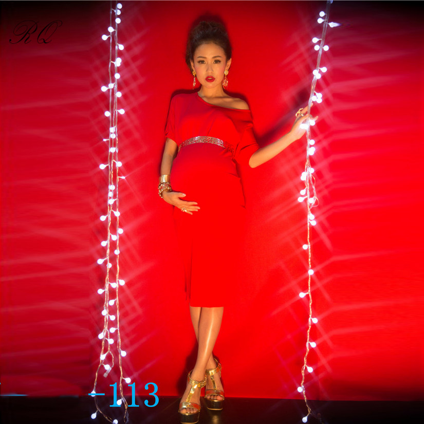 RQ Fashion Long Breathable Maternity Dresses Maternity Photography Props Pregnant Clothes Pregnant Dress Women Dress Q11 maternity pregnant women photography fashion props long dress white romatic see through personal portrait nightdress size s l