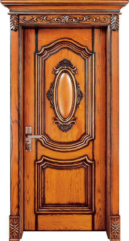 Hot sale top quality and reasonable price exterior and for Solid wood exterior doors for sale