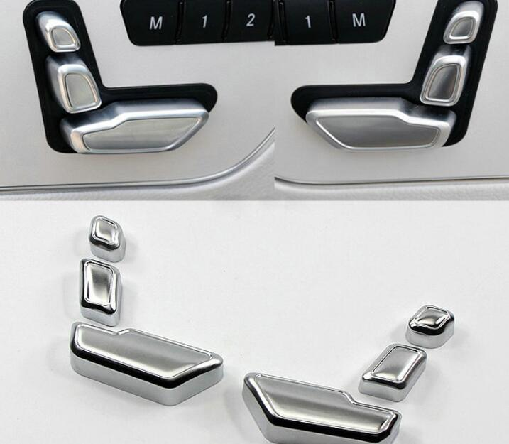 Mercedes Accessories: DEE Car Accessories Chrome Seat Adjust Button Switch Cover