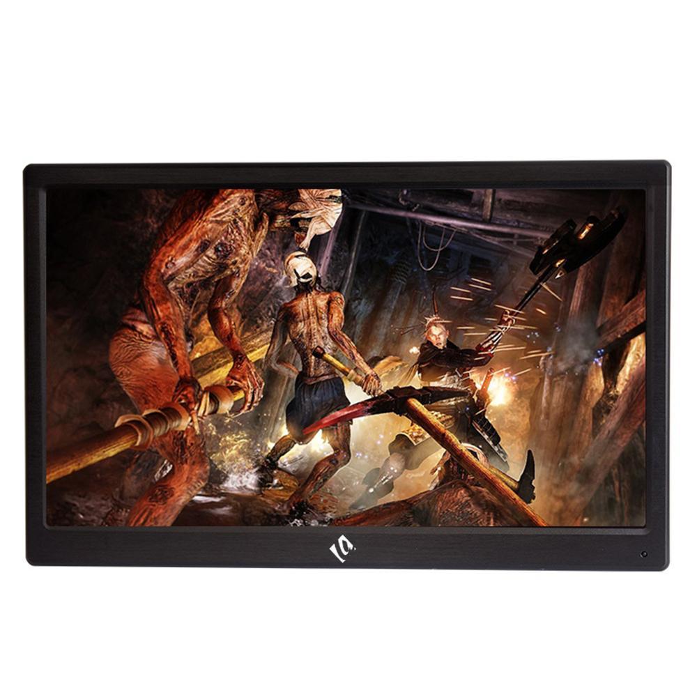 Moniteur 17.3 pouces Portable haut-parleur intégré HDMI 1080p IPS moniteur d'affichage avec prise US pour PS3 PS4 NS