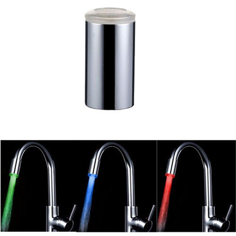 Горячее предложение 1 шт. 7 цветов светодиодный Светлый вода, душ спрей ванной кран насадка LD8002-A6