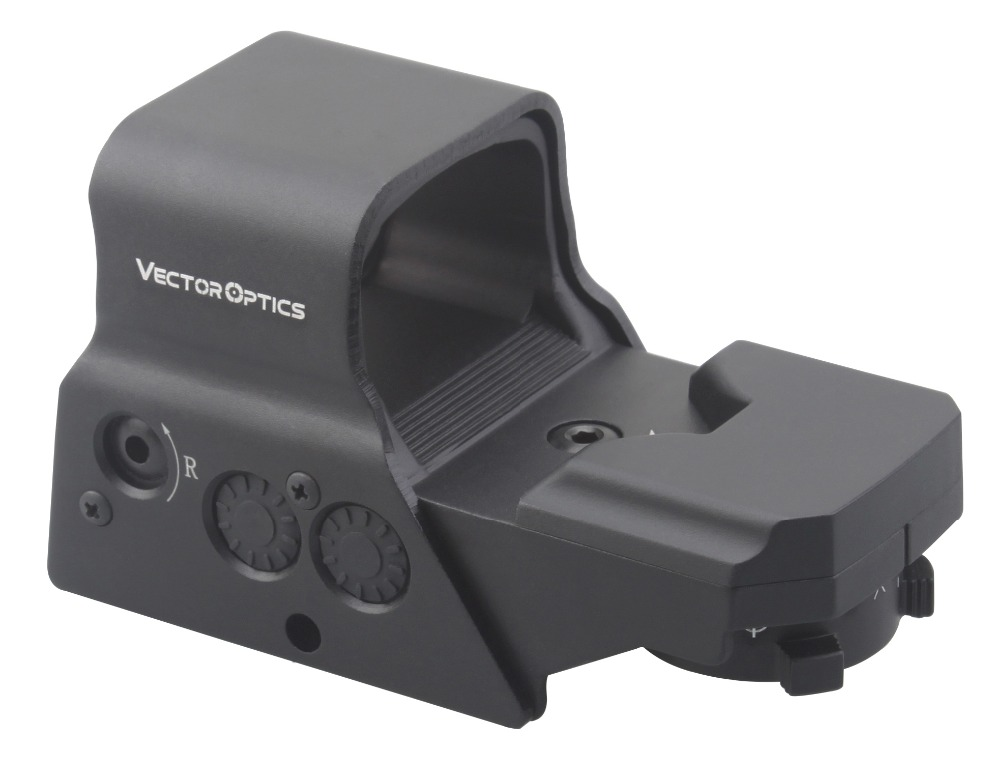 Vector Optics Omega Tactical Solar 8 Reticles High Quality Military Reflex Red and Green Dot Sight Gun Scope with QD Mount цена