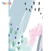 Yeele Wallpaper Photcall Graffiti Ins Painting Decor Photography Backdrop Personalized Photographic Backgrounds For Photo Studio