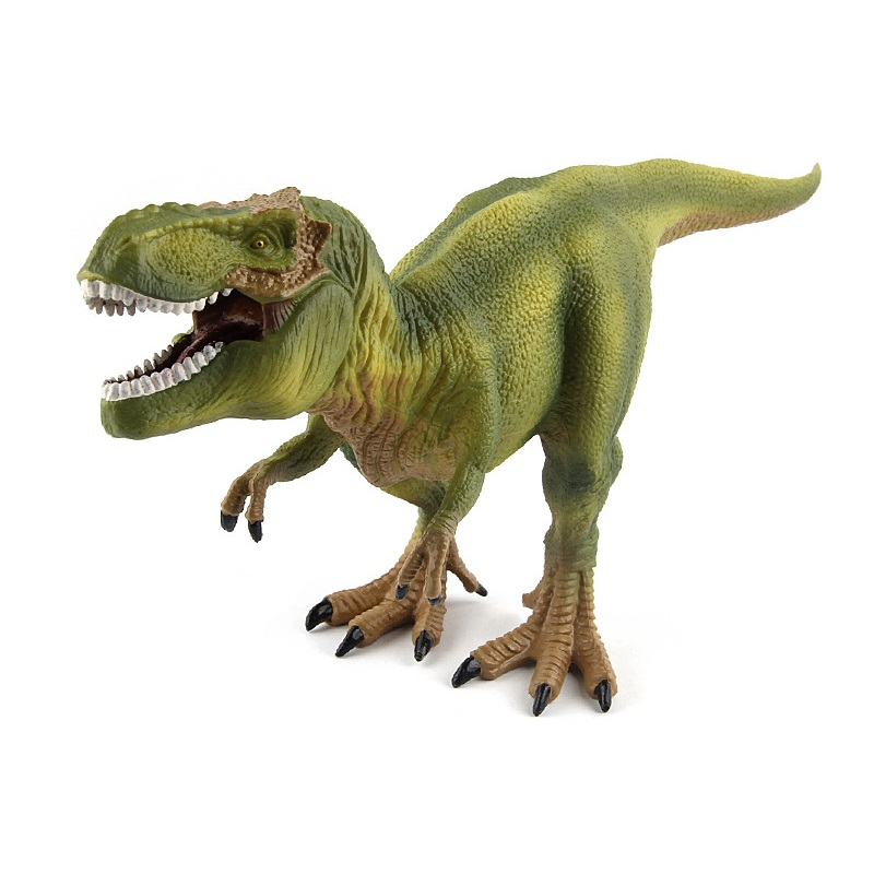 ZXZ Jurassic Velociraptor Dinosaur Tyrannosaurus rex Toys Figures Animal Model Collection Learning Educational Kids children toy big one simulation animal toy model dinosaur tyrannosaurus rex model scene