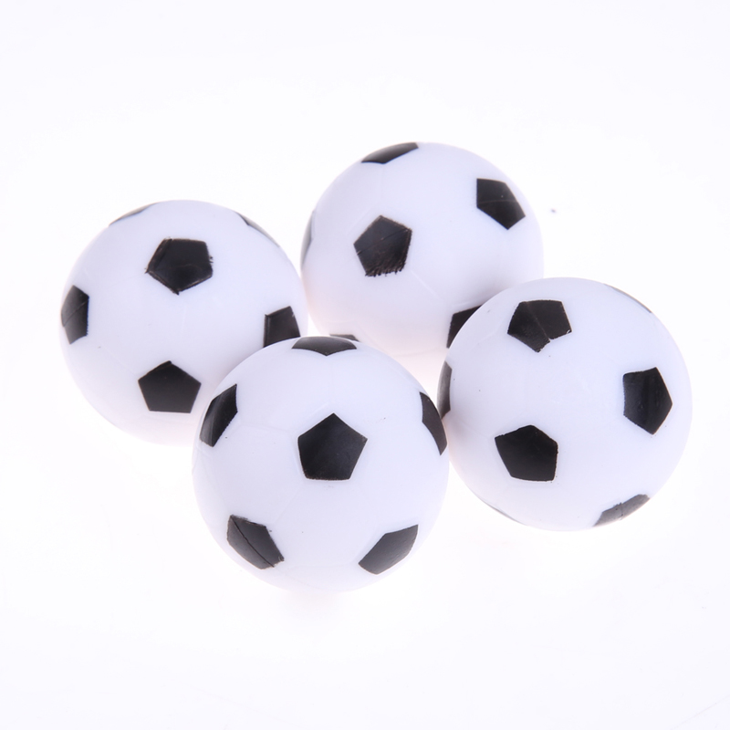 4pcs/lset Kids Table Football Durable 32mm Balls for Table Game Accessories Kids Outdoor Sports Ball Toys Children Football Play image