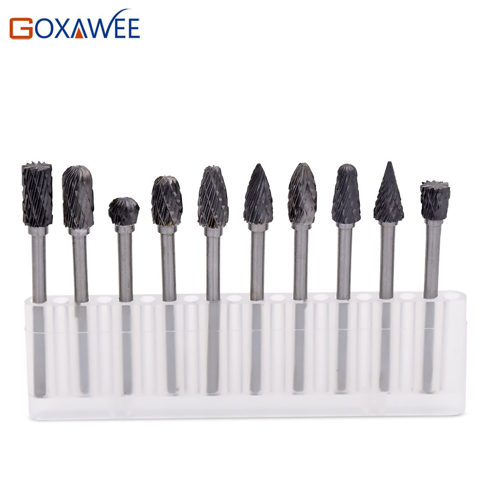 1pc/pack Dremel Accessories Milling Cutter Engraving Bits Tungsten Steel Carbide Rotary File Burs For Dremel Rotary Tools