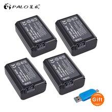 4pcs NP FW50 NP FW50 2000mAh Rechargeable Battery Digital battery for Sony A6000 a3000 a7s II alpha 55 alpha 7 A72 A7R Nex7 NE