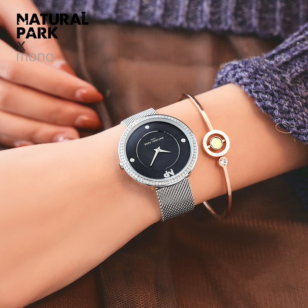 Часы из нержавеющей стали с золотым плетением, женские брендовые Роскошные повседневные часы, женские наручные часы, женские часы