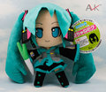 Vocaloid Hatsune Мику Плюшевые Игрушки Куклы 24 см Зеленый Хацунэ Мику Мягкая Чучело Игрушки Рис Игрушки для Девочек День Рождения Подарки