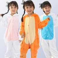 Kigurumi unicórnio pijamas para meninos meninas arco-íris panda ponto macacão pijamas crianças pijamas dos desenhos animados animais onesies