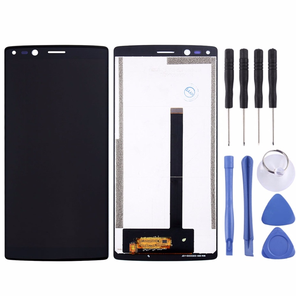 LCD Screen and Digitizer Full Assembly with Tool for Doogee MIX 2