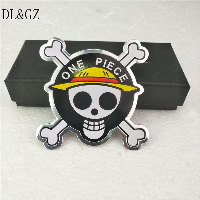car styling Accessories Funny One Piece 3D Aluminum Motorcycle Car Sticker For ford focus bmw mazda opel toyota car-cover