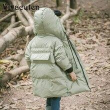 2018 детские куртки Зимний пуховик для девочек и мальчиков детское зимнее пальто теплая верхняя одежда для детей пальто с капюшоном Детский Зимний комбинезон пальто одежда