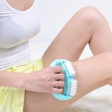 Новое поступление целлюлитные ролики ручка резиновый массажный валик для тела Массажер ручной массажер