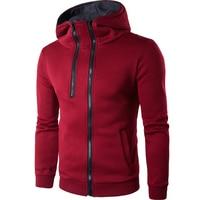 Dropshipping HoodieA Half Zipper Design Cardigan Hoodies Men Fashion Tracksuit Male Sweatshirt Off White Hoody Mens