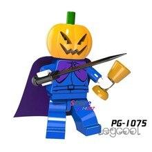1PCS model building blocks action superheroes Pumpkin Man Fantastic kit Best Gifts diy toys for children gift(China)