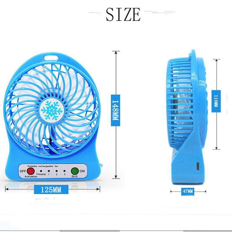 Min Fan Portable Air Conditioner Air Cooler Table Small Handheld Fan  portable fan  solar power fan Fans     - title=
