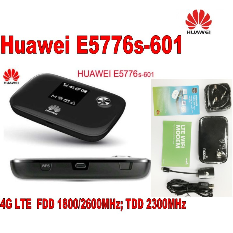 Original Unlocked HUAWEI E5776 E5776S-601 wifi Router 4G LTE FDD Mobile Hotspot with host charging cable & antenna free shipping unlocked huawei carfi e8377 hilink lte hotspot 4g lte cat5 12v car wifi router free shipping