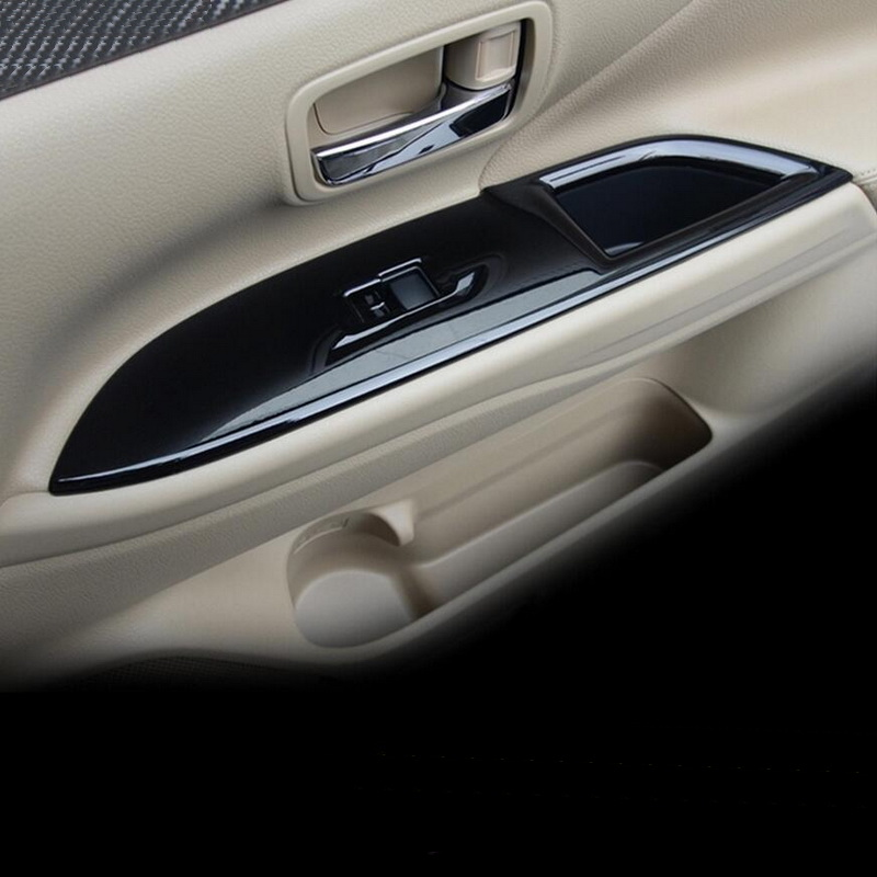Tonlinker 4 ədəd DIY Avtomobil Üslubu ABS Mitsubishi Outlander - Avtomobil daxili aksesuarları - Fotoqrafiya 5