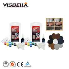Visbella 2pcs Car Seat Leather Vinyl Repair Kit Auto Sofa Coat Holes Scratch Cracks Rips Liquid Leather Repair with 10pcs Patch