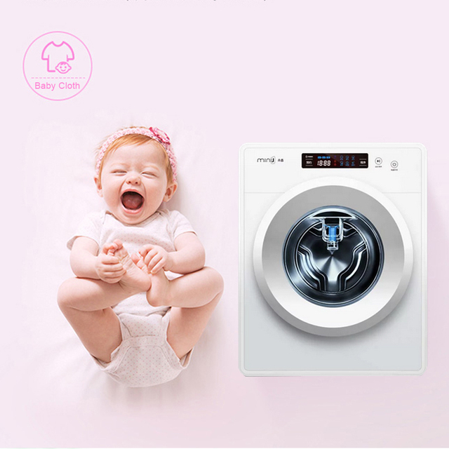 Xiaomi MiniJ Smart Washing Machine With 14 Laundry Modes Remote Phone App For Smart Home