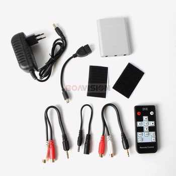 New Super Mini AHD DVR Recorder HD 720P Support SD Card 256GB Real time 1Ch CCTV DVR Board Video Compression Motion Detection