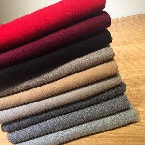 Image 5 - luxury brand Winter scarf 100% wool cashmere shawls bandana women scarf  fashion and wraps gray men scarf poncho pashminas