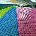 10 pulgadas placa base 12.8*25.6 cm diy ladrillos de construcción, parte 32x16 puntos placa base compatible monta los bloques