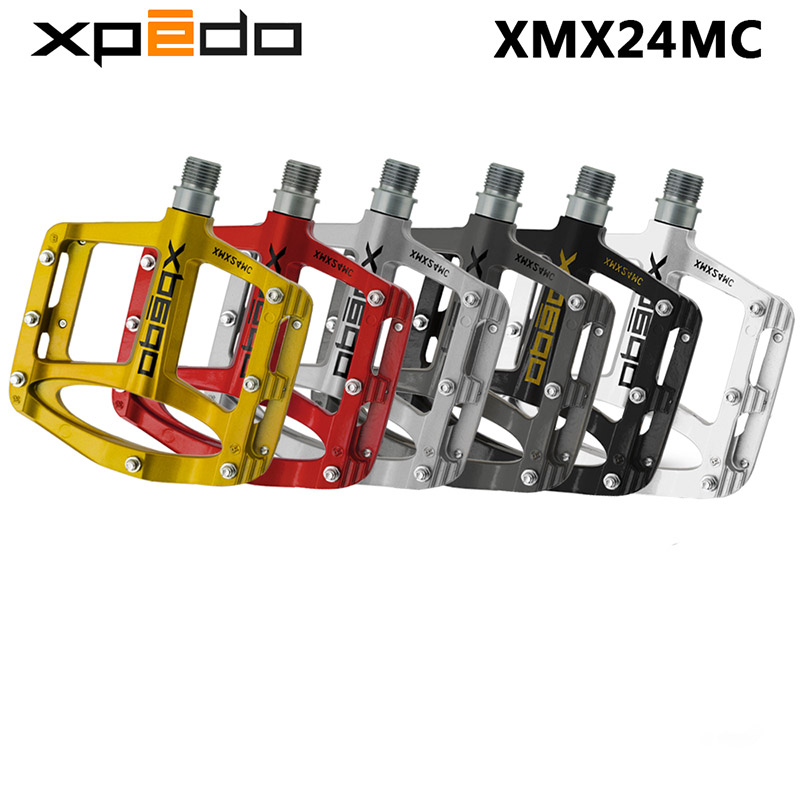 Wellgo XPEDO XMX24MC SPRY  Magnesium MTB Bicycle Pedals ultralight mountain bike pedals 243g 5 Colors