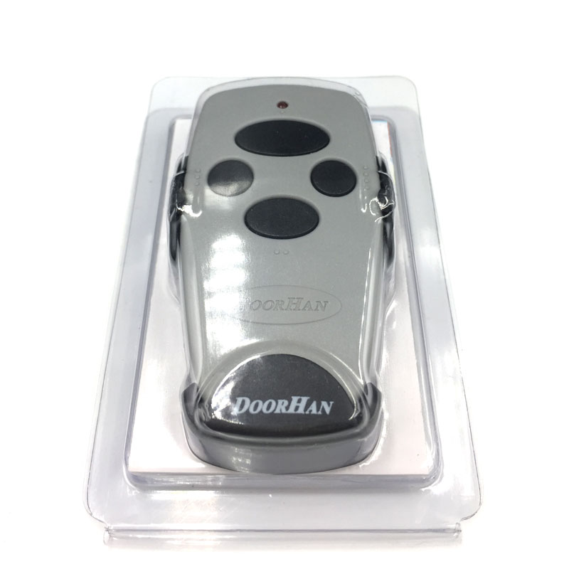 2pcs Rolling Code Hand Transmitter For DOORHAN Transmitter2 Transmitter 4 433mhz Battery Included