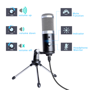 Image 2 - MAONO USB סטודיו מיקרופון מקצועי Condensor פודקאסט מחשב מיקרופון עם חצובה עבור קריוקי Youtube משחקים הקלטה