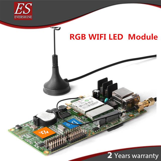 ¡ Nuevo! D10 HD-D10 + Wifi módulo rgb led tarjeta controladora entrar para Windows, Taxi, pantalla led de publicidad