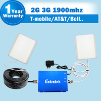 65db GSM 1900 Mobile Phone Signals Booster Repeaters DCS 1900MHz Cellphone Booster Mini Amlifier With Indoor