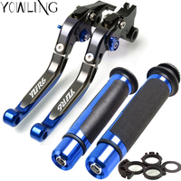 For YAMAHA YZFR6 YZF R6 YZF R6 1999 2000 2001 2002 2003 2004 Motorcycle Adjustable Brake Clutch Levers Handlebar Hand Grips