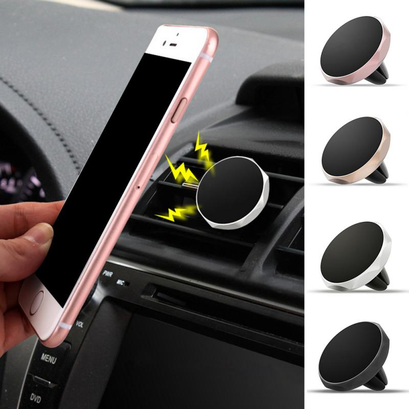 Car Universal Holder Mini Vent Shutter Mount Magnet Magnetic Mobile Holder