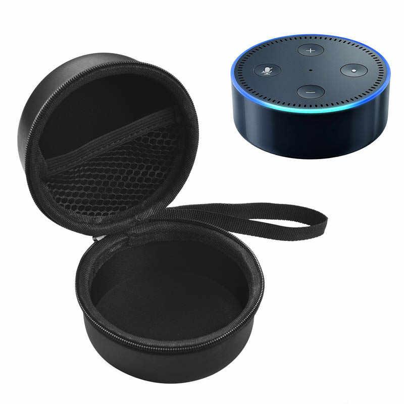 Przenośny bilansowa podróży etui ochronne twarde pudełko etui dla Amazon wszystkie Echo Dot IJS998