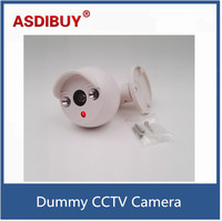Mini Indoor Bullet Cctv Camera False Dummy Camera For Home Surveillance Anti Thief Battery Power Fake