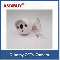 Mini Indoor Bullet Cctv Camera False Dummy Camera For Home Surveillance Anti Thief Battery Power Fake