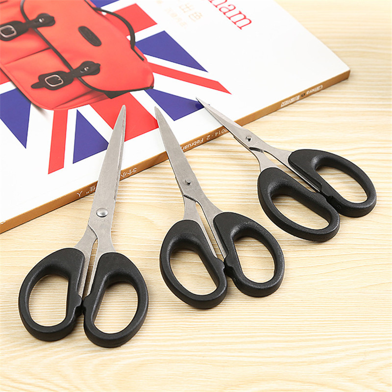 Sewing Accessores Stainless Steel Scissors Home School Handwork Scissors Suction Card Sewing Stationery Scissors Free Shipping