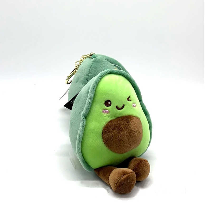Brinquedo Recheado Abacate Frutas Planta De Pelúcia Brinquedo Kawaii Dos Desenhos Animados Bonito Mini Meninas Meninos Boneca Pelúcia Pingente