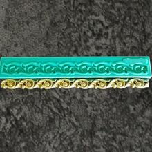 Yueyue Sugarcraft граница силиконовая форма помадка форма для украшения торта инструменты форма для шоколадной мастики