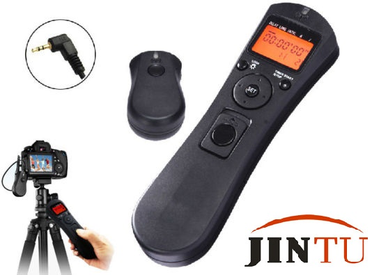 JINTU 2 4G intervalometer Wireless Timer Camera Remote Control Shutter  Release RS-60E3 for Canon 760D 650D 100D 550D 1200D 1300D