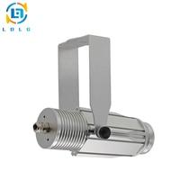 Promo Novedad plata aleación de aluminio resistente al agua 20W LED Gobo imagen proyector 1800lm IP65 Logo