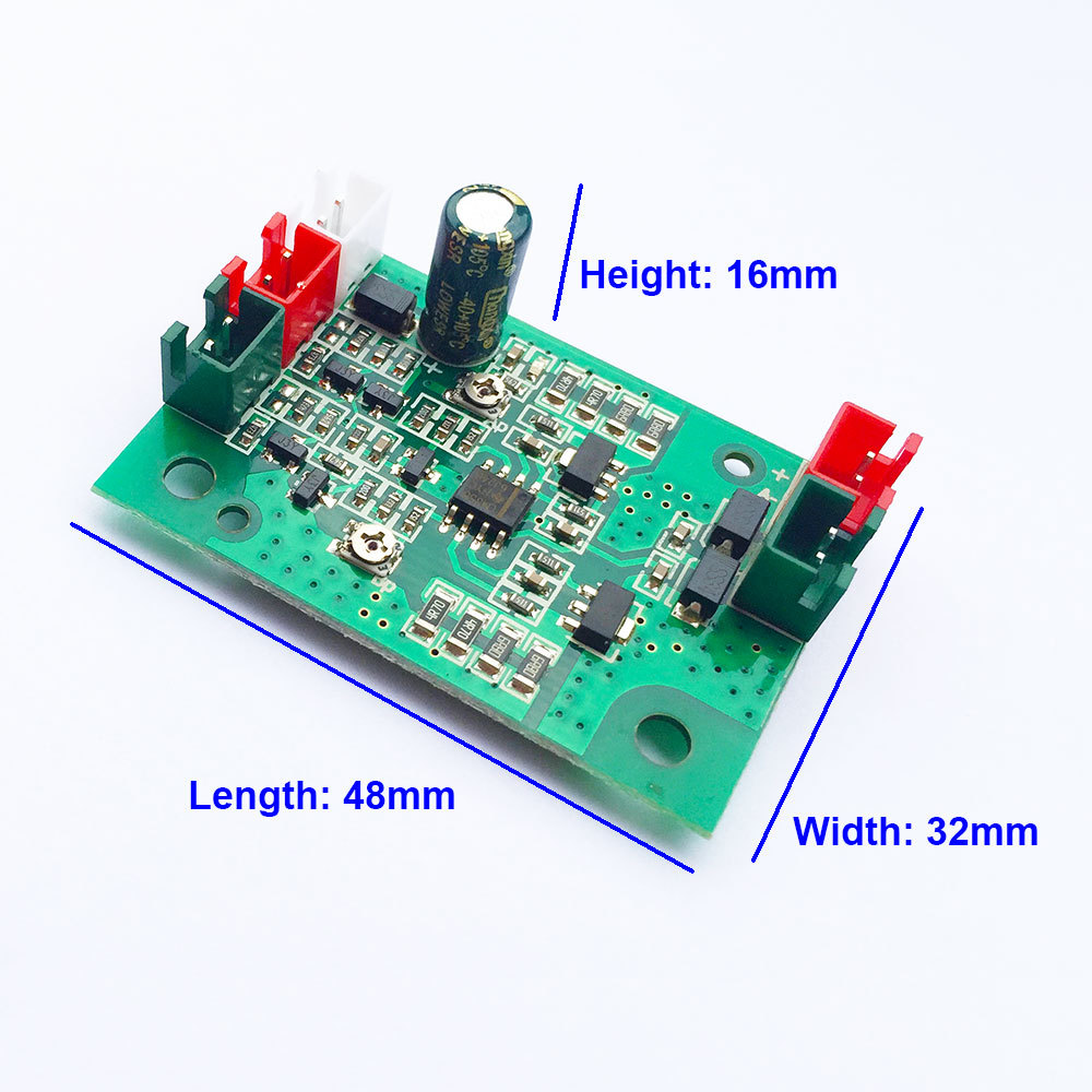 tgleiser Laser Board Driver 0-600mA 3V-5V 0-800mA Red Green Laser Diode TTL 48*32*16mm DIY Red Laser module accessory цена
