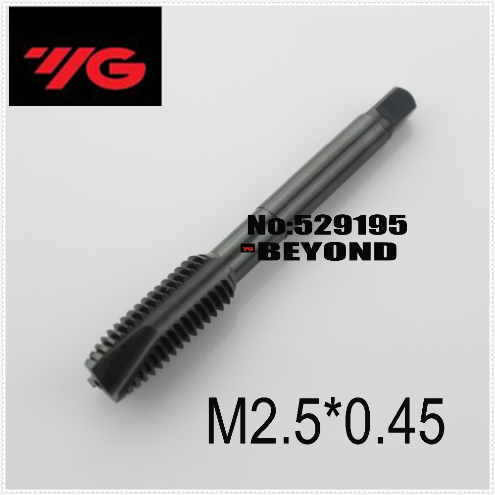 M2 5 0 45 Korea YG 1 Series Through hole Machining Suitable for Alloy Steel and