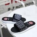 2016 Capitán América Mujeres de La Venta Caliente Barato Zapatillas de Plataforma Amantes de La Moda de Verano Zapatos Casuales de Playa Casa de Pisos Al Aire Libre